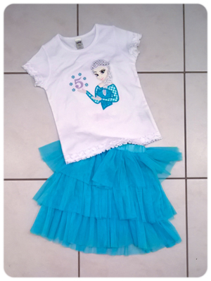 Eiskönigin Elsa Birthday Shirt Frozen
