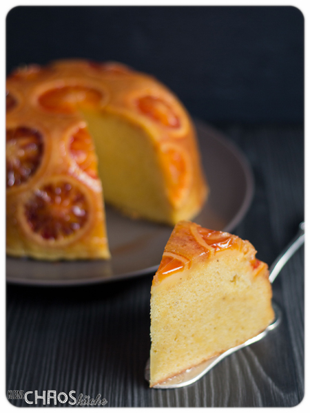 English Orange Pudding Englischer Orangen Pudding